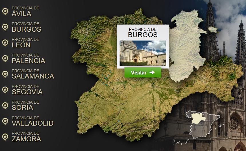Guía interactiva de Castilla y León